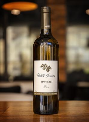 Pinot gris, Domaine Gérald Clavien